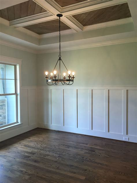 wall color sea salt sw wainscotting decorative ceiling