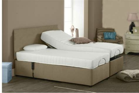 Bed Cost by 5ft 6ft Memory Adjustable Electric Bed Free Delivery