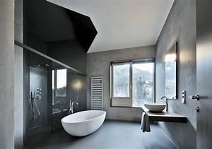 1001 modeles pharamineux de la salle de bain moderne for Salle de bain design avec billes de verre décoratives