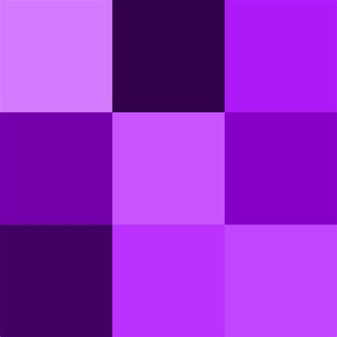 different color purples shades of purple