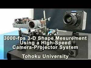 3,000-fps 3-D Shape Measurement Using a High-Speed Camera ...