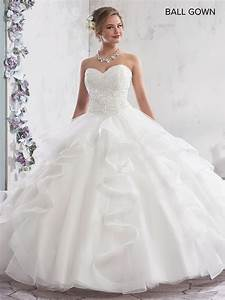 Style Chart Bridal Ball Gowns Style Mb6007 In Ivory Or White Color