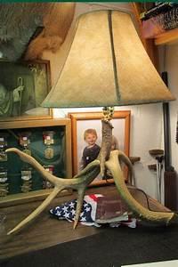 Antler Lamp Diy
