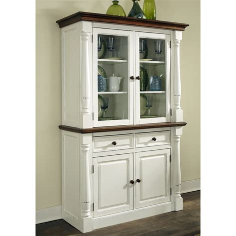 kitchen cabinets in china home styles monarch china cabinet white oak china 6124