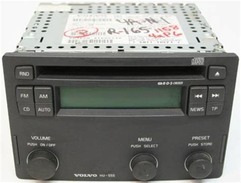 2004 Volvo S40 Factory Receiver Am Fm Radio Cd Player R1158