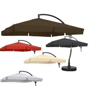 sun garden parasol ersatzbezug sun garden elschirm easy sun parasol anthrazit
