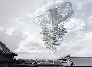 Light Park Floating Skyscraper- eVolo   Architecture Magazine