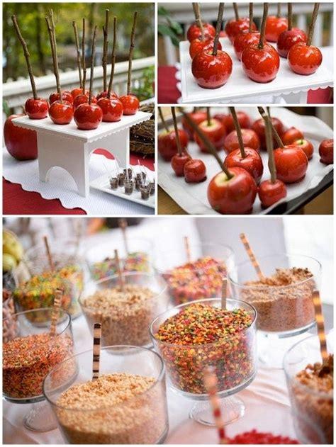 Make Your Own Caramel Apple Bar Dessert Tables