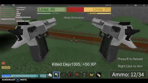 noobs zombies realish vs roblox shotgun game playing round