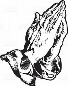Unique Praying Hands Cross And Bible Vector Design  U00bb Free