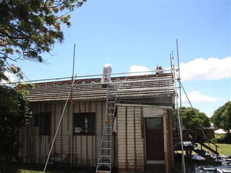 jobs brick cladding decramatic roof removal