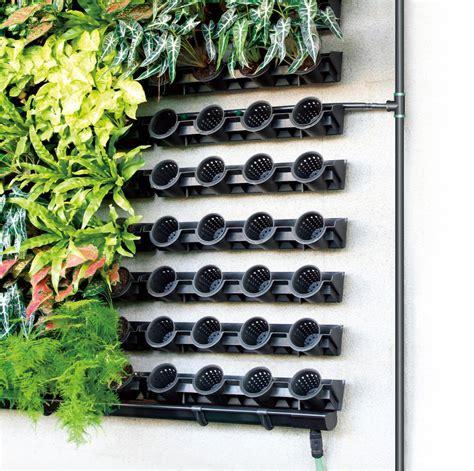 Greenwall Vertical Garden Kit by Greenwall Pixel Pot Vertical Planting Kit Holman