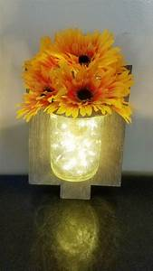 Love, My, Fairy, Light, Vase, I, Made, I, Gave, It, To, My, Sister, In, Law, For, Her, Birthday