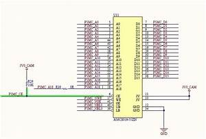 Interfacing Stm32 With External 512kx16 Sram  8bit Data