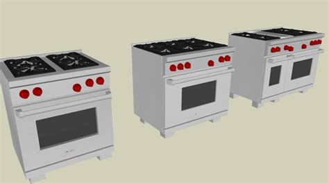 wolf dual fuel ranges  warehouse