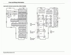 2000 Mountaineer Fuse Diagram