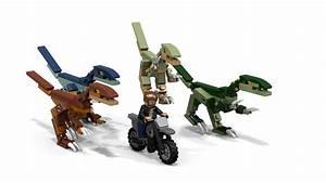LEGO Ideas - Jurassic World Raptor Chase