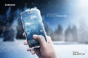 Samsung Galaxy S5 Cell Phone Advertising