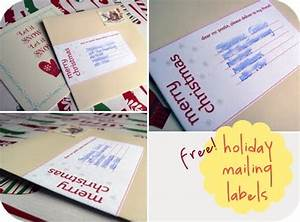 1000 images about free printables cards on pinterest With holiday mailing labels