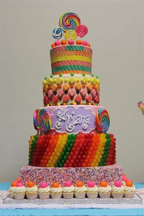 25 best ideas about candy cakes on pinterest candy