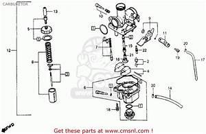Honda Xr200 1984  E  Usa Carburetor