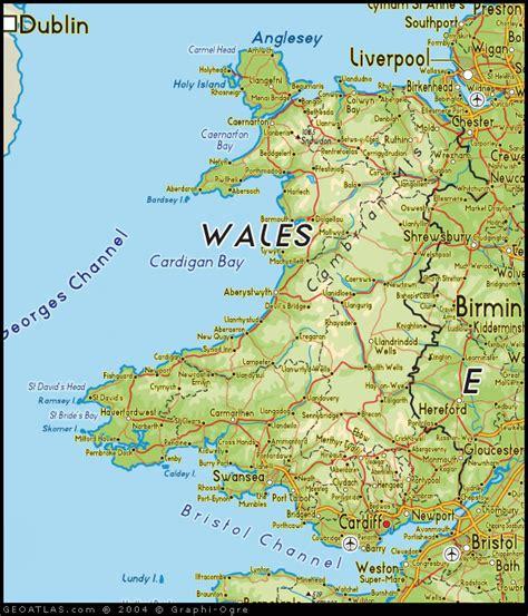 map  wales map uk atlas