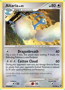 Altaria - Great Encounters #12 Pokemon Card