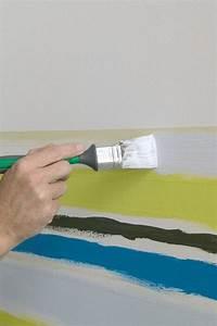 Muster Für Wandgestaltung : die 25 besten ideen zu wandgestaltung streifen auf ~ Lizthompson.info Haus und Dekorationen