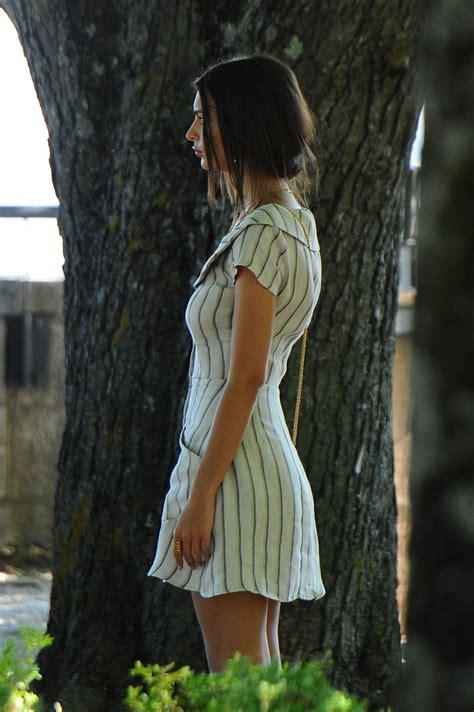 EMILY RATAJKOWSKI on the Set of Welcome Home in Todi 06/01 ...