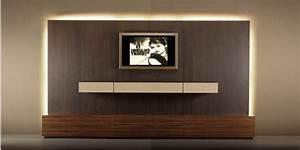 Tv Wandpaneel Holz : tv wand selber bauen 80 kreative vorschl ge ~ Markanthonyermac.com Haus und Dekorationen