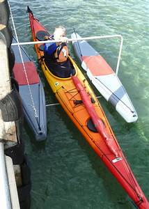 Floating Kayak Dock System For Launching Kayaks And Canoes