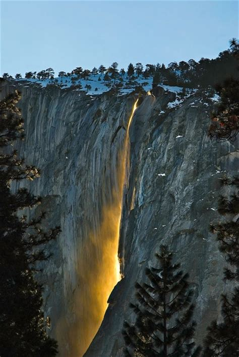 17 Best Images About Yosemite Horsetail Falls On