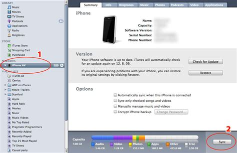 sync itunes to iphone how to find crash logs for iphone applications on mac