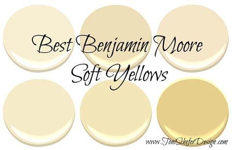 best benjamin moore soft yellows paint colors paint