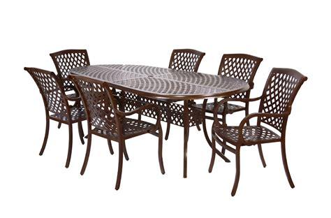 miyu furniture wellington collection 7 pc dining set