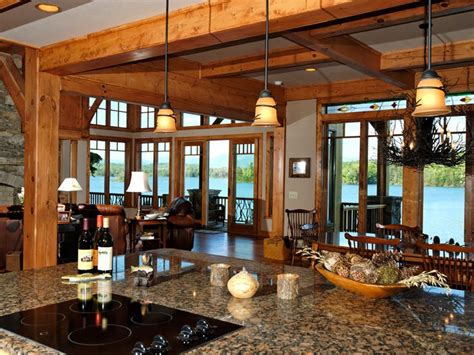 taos luxury mountain home luxury house plans timber frame kitchen architectural design house