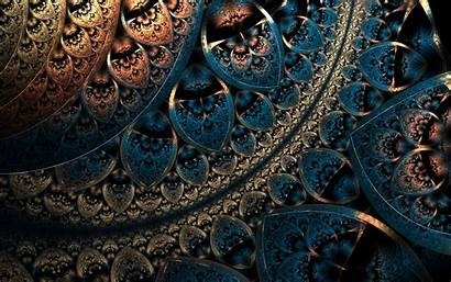 Abstract Fractal Digital Background Geometry Pattern Geometric