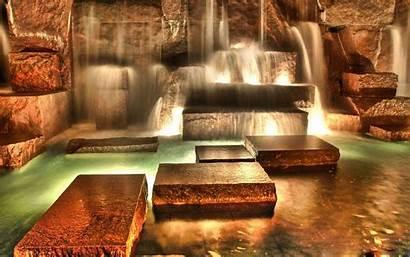 Desktop Waterfall Wallpapers Fantasy Pixelstalk Final