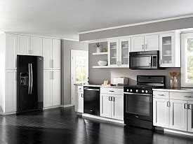 whirlpool ice collection  appliances black ice
