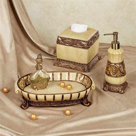 chalmette elegant bath accessory set