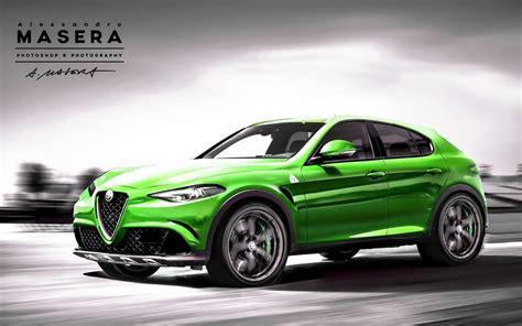 2017 Alfa Romeo Stelvio Suv (tipo 949) Debut Set For 2016