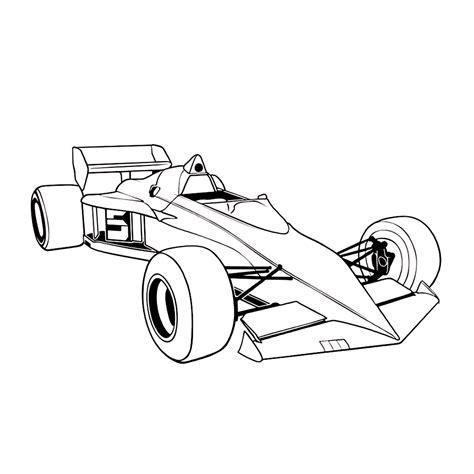 Kleurplaat Formule 1 by Formule 1 Racewagens Kleurplaten Kleurplatenpagina Nl