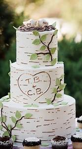 Mariage Theme Champetre : un g teau de mariage sur le th me champ tre nuage de plumes ~ Melissatoandfro.com Idées de Décoration
