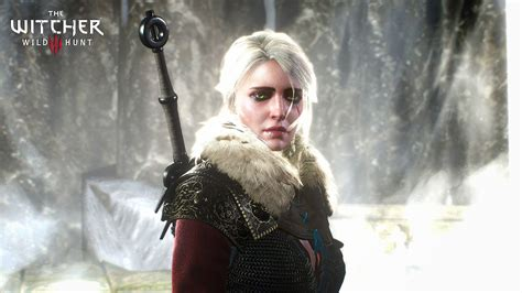 The Witcher 3 Wallpaper 2560x1440 Wallpaper The Witcher 3 Wild Hunt White Hair Girl 1920x1080 Full Hd Picture Image