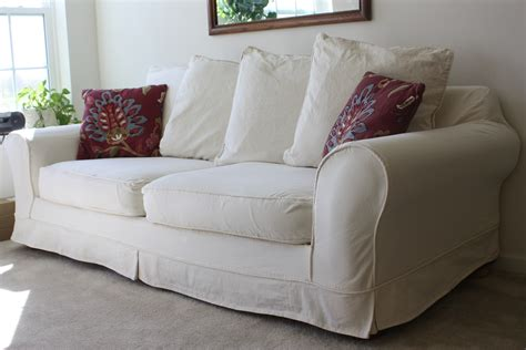 Red Slipcover Sofa Red Sofa Slipcovers Clearance