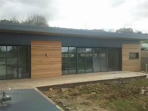 construction maison bois a brest extension ossature bois With maison de la fenetre 3 construction maison bois finistere
