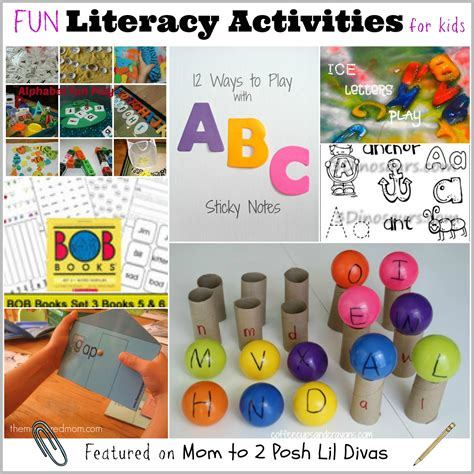 a word family activities 645 | SS Literacy Activities Collage