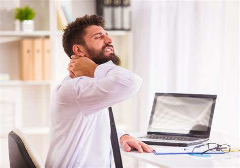 back pain from sitting at desk neck and back pain from sitting at desk all day