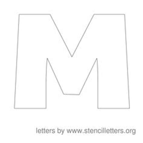 block letter m 1000 ideas about number stencils on stencils 29509