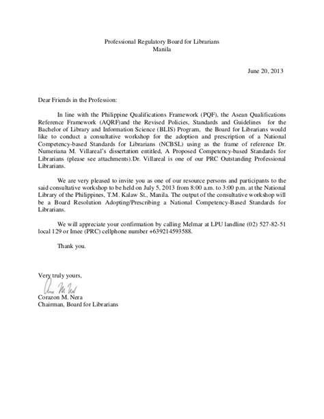 letter  invitation